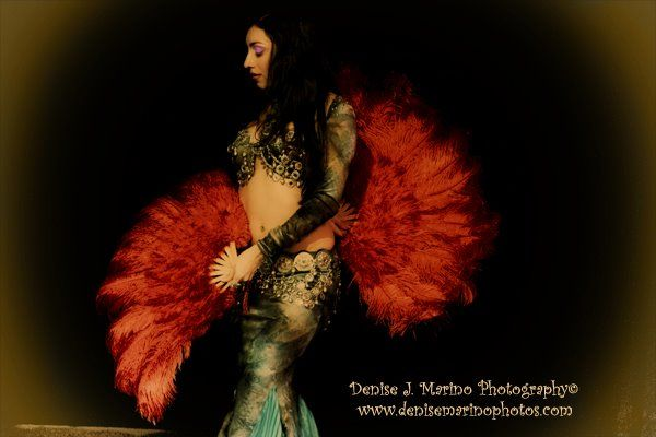 belly dance and fusion