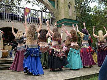 networking with bellydancers in your town