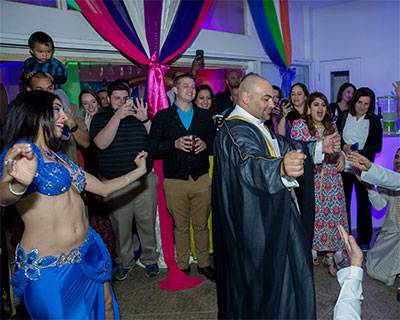 Bellydancing for a Pre-Wedding event