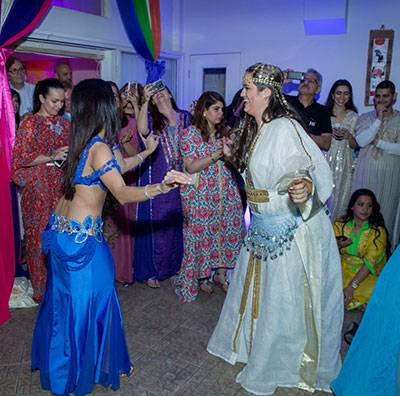 Bellydancing for a Pre-Wedding Henna Party in Metrowest (Orlando, FL)