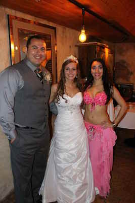 top bellydancer in orlando for transnational weddings
