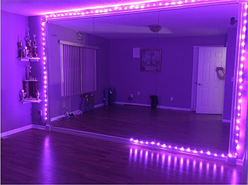 How I Saved Major $$$ When Designing My Home Bellydance Studio